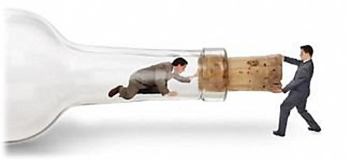 Comment sortir de la bouteille